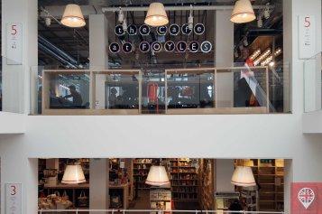 foyles cafe window
