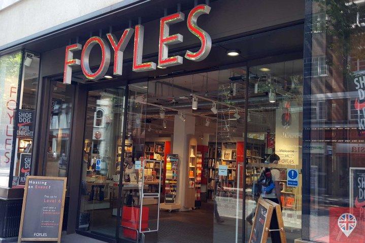 foyles entrance