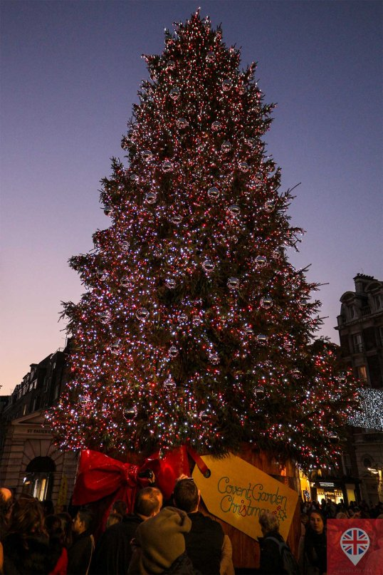 Pra mim, Covent Garden tem a árvore mais bonita...