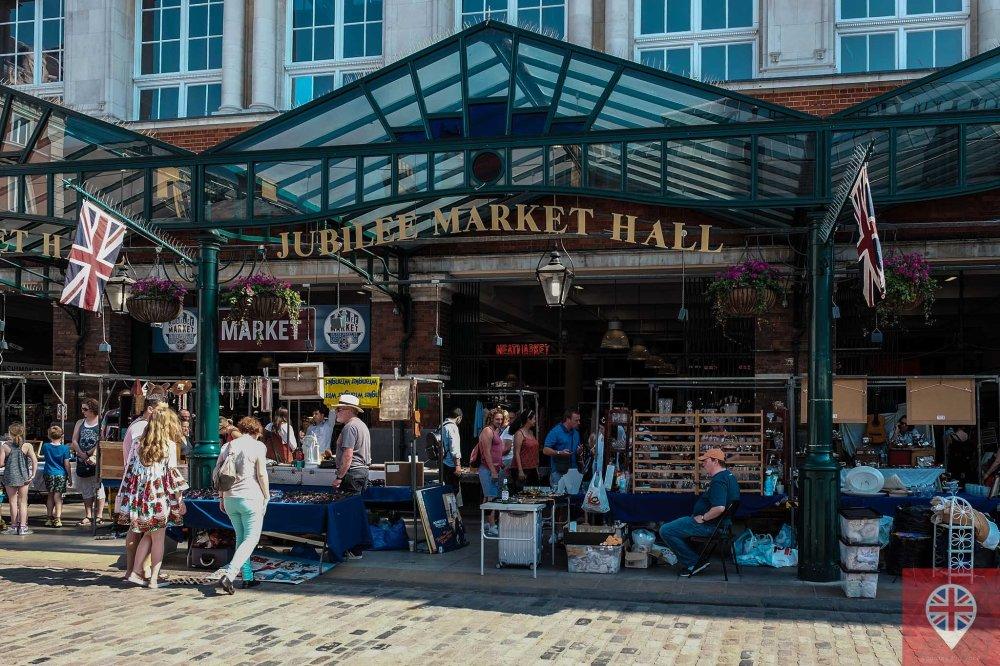 Covent Garden Jubilee market
