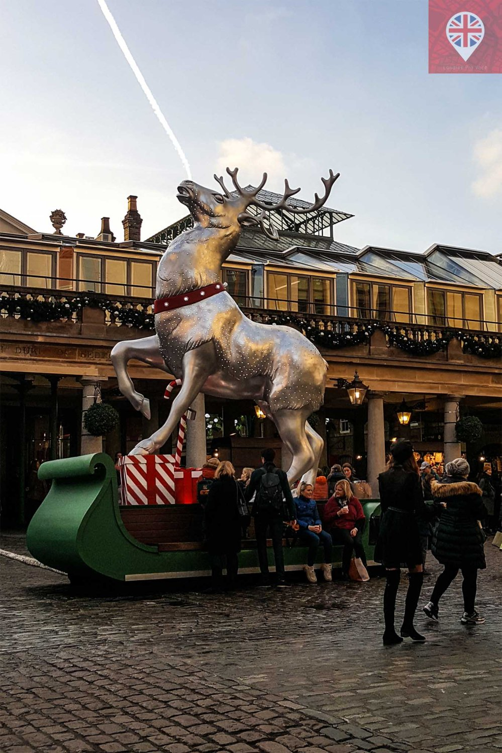 Covent Garden raindeer