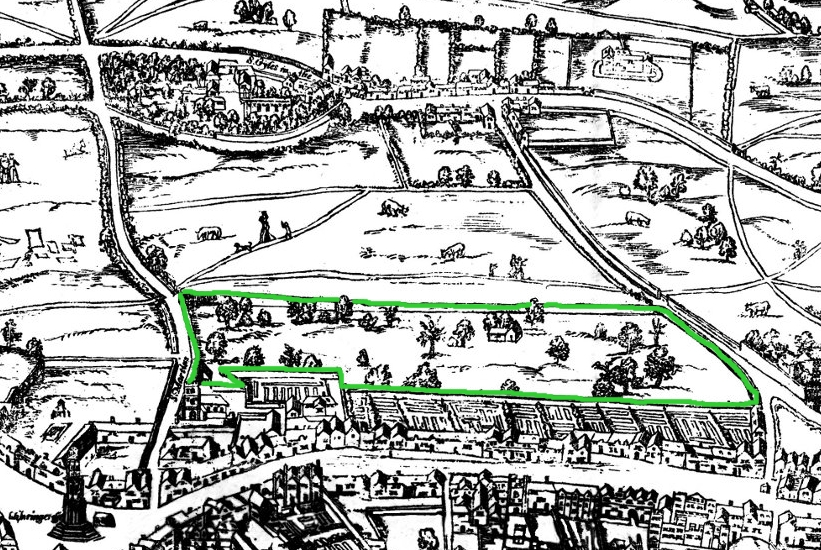 Covent_Garden_from_the_Ralph_Agas_1572_map_of_London_-_marked