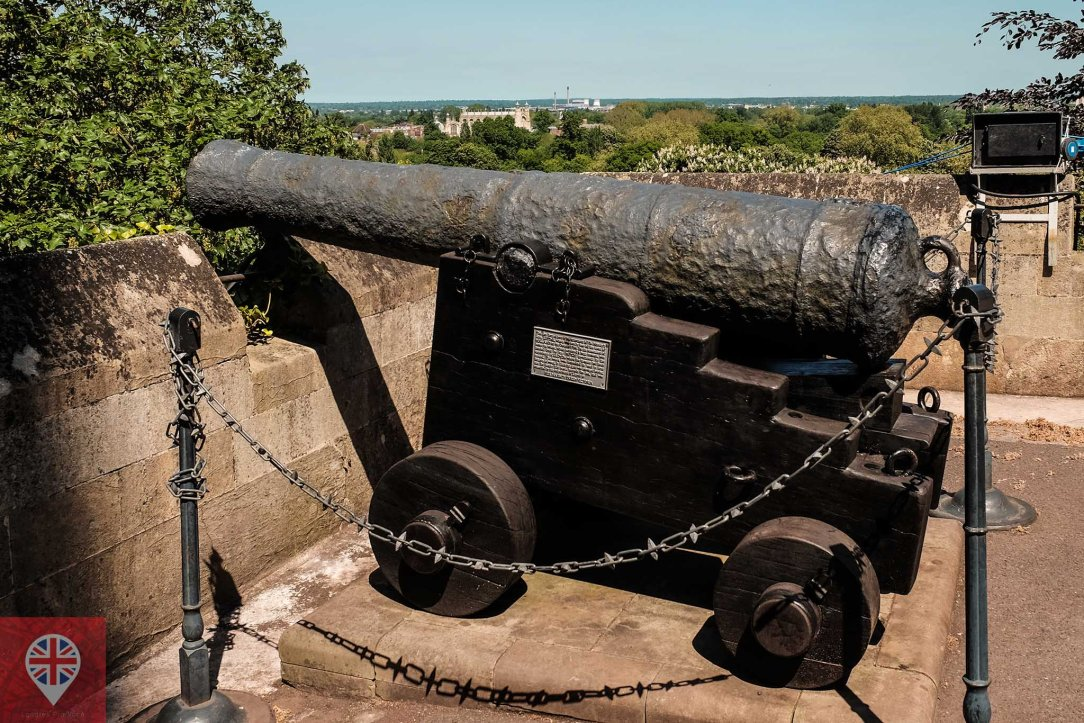 windsor castle cannon