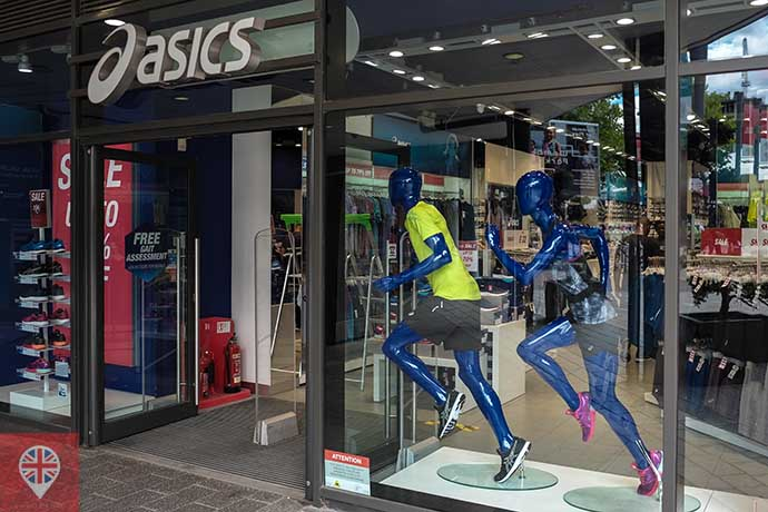 london designer outlet asics