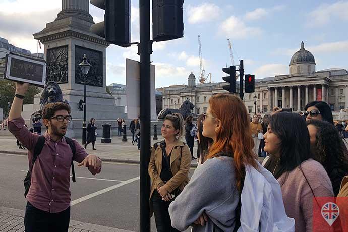 Movie Tour Trafalgar Square