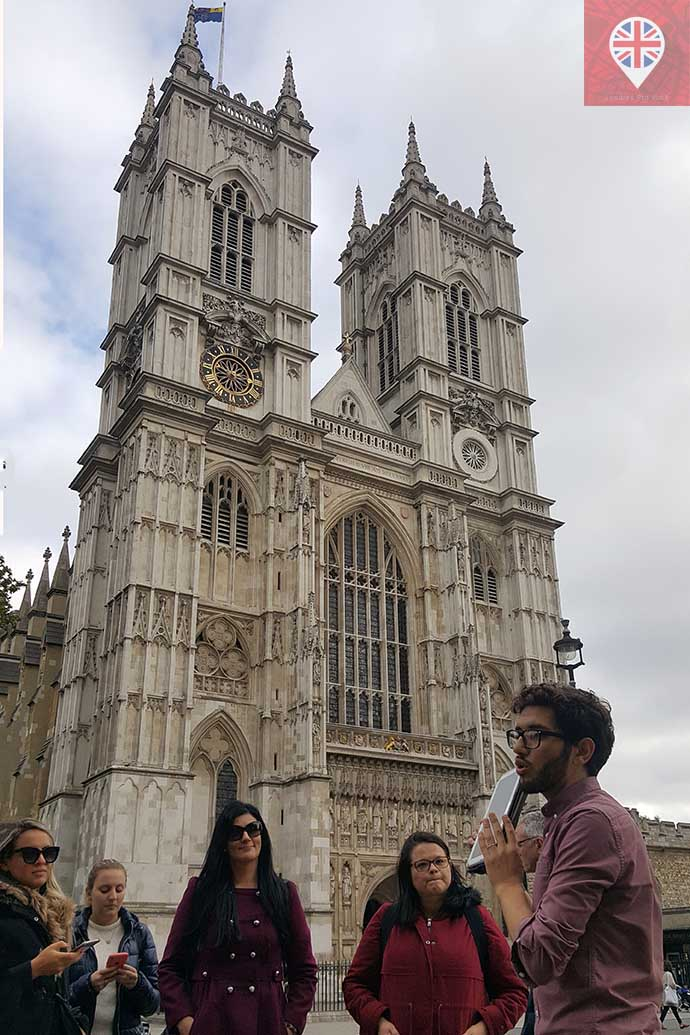 Movie Tour Westminster Abbey