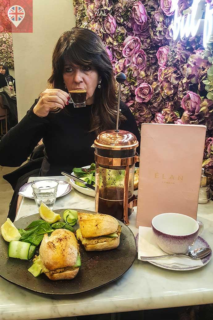 Elan Cafe Ana Maria comida