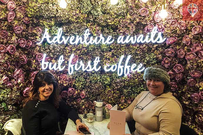 Elan Cafe parede