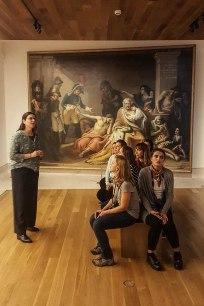 museu de historia madri grupo quadro