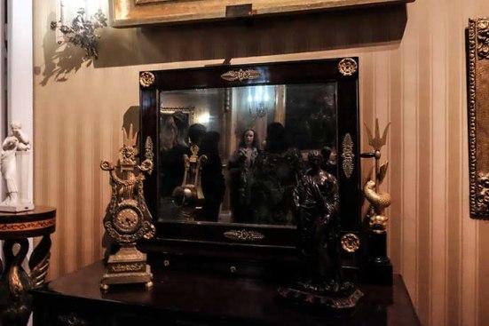 museu romantismo espelho