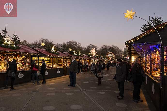 Winter Wonderland xmas market 2