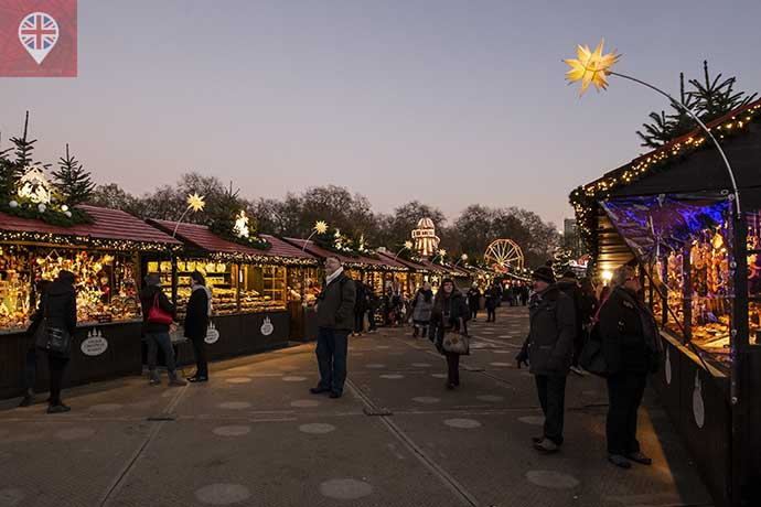 Winter Wonderland xmas market 2
