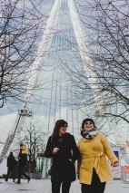 Eu e minha parceira Ana Maria do Londres comigo. Foto tirada pela outra parceira Ariana Declerck