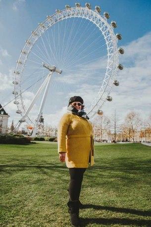 Tina London Eye Jubilee Gardens