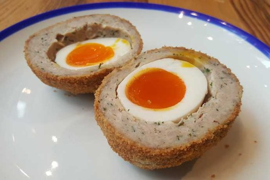 sourced market scotch egg