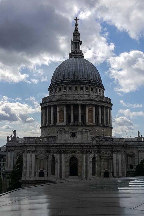 catedral de st paul rooftop