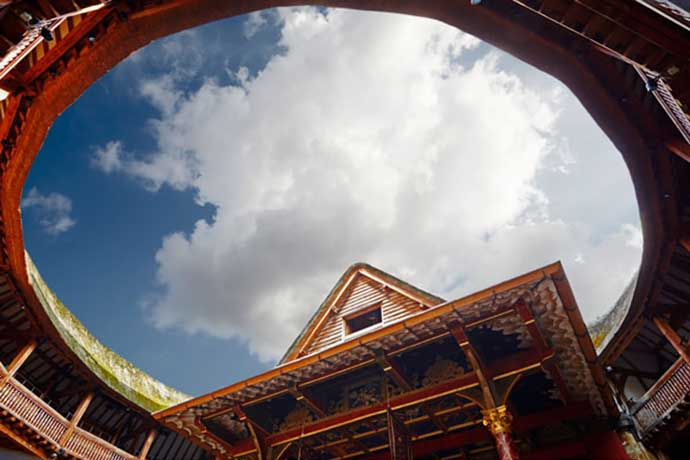 shakespeare globe ceiling