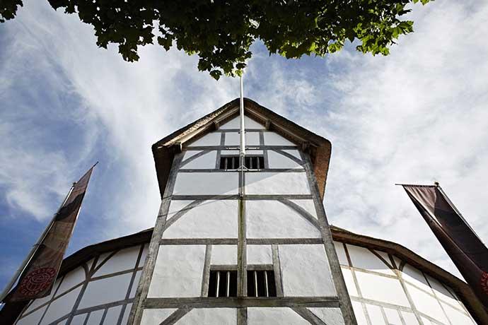 shakespeare globe detalhe