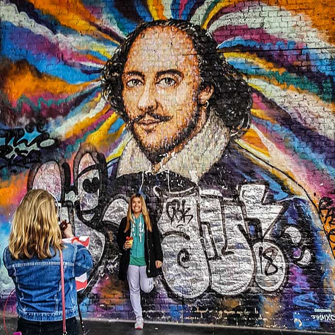 shakespeare graffitti