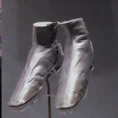 Victoria 200 silver shoes