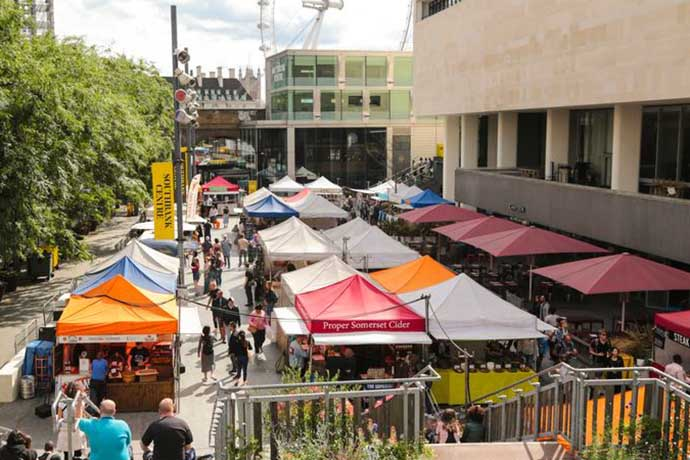 Southbank market