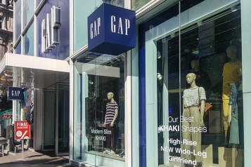 Oxford Street GAP