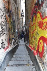 Estocolmo rua mais estreita