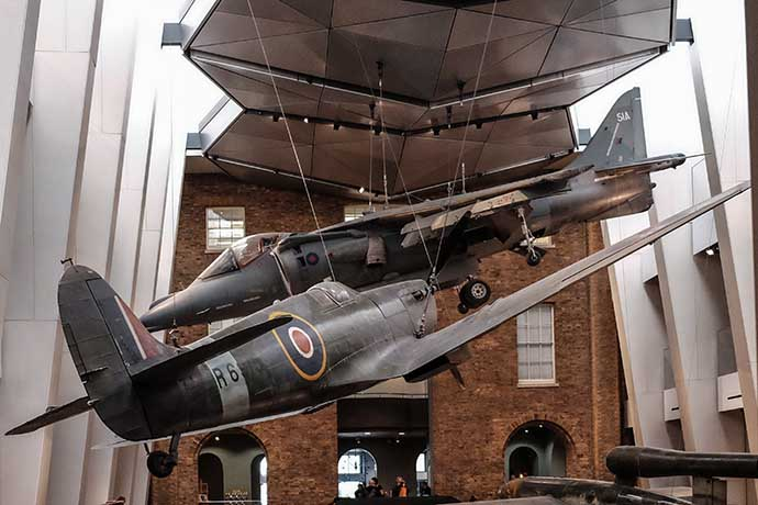 IWM airplanes