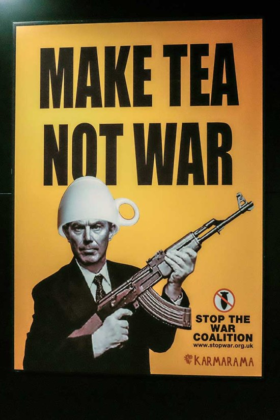 IWM Tony Blair Make Tea Not War