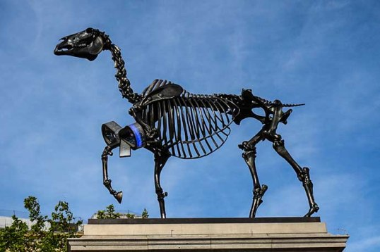 fourth plinth Gift Horse 1