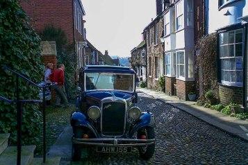 Rye carro antigo