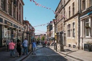 Windsor shopping street