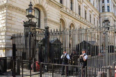 armed police downing street