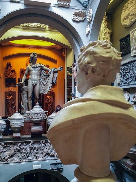 john soane museum apolo busto