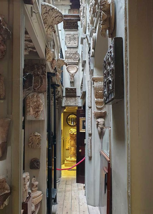john soane museum corridor