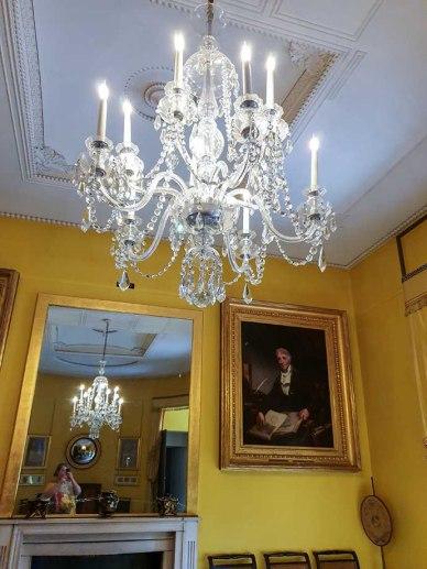 john soane museum yellow room espelho