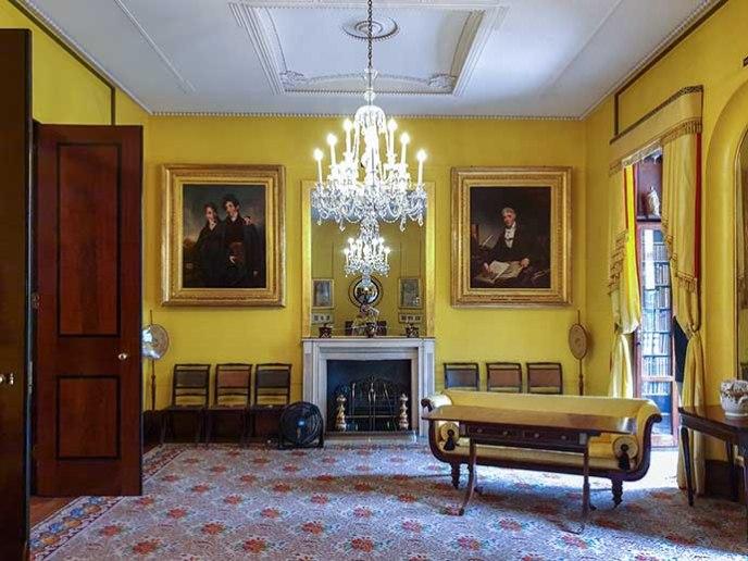 john soane museum yellow room